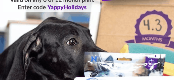PupBox Cyber Monday Deal: Get your first PupBox for $1!