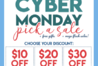 Fat Quarter Shop Cyber Monday Sale: Save Up to $30! + FREE Cyber Monday Gifts!