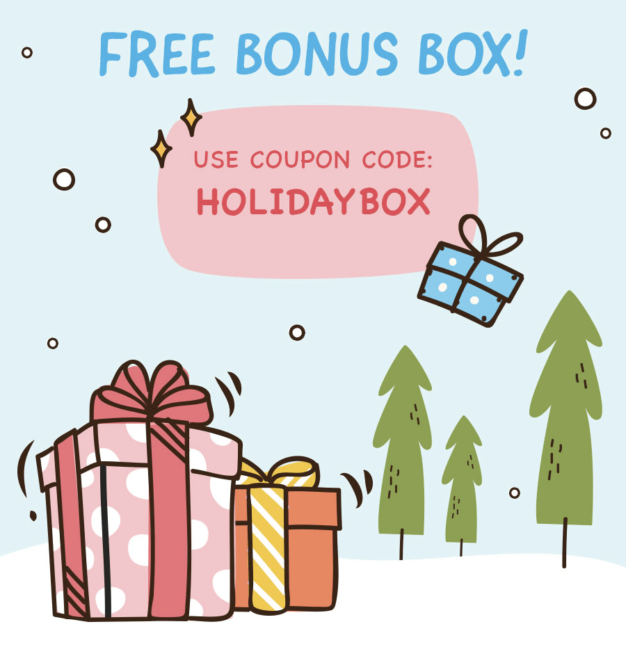 WompleMail Cyber Monday Deal: FREE Bonus Box with Prepaid Subscription!