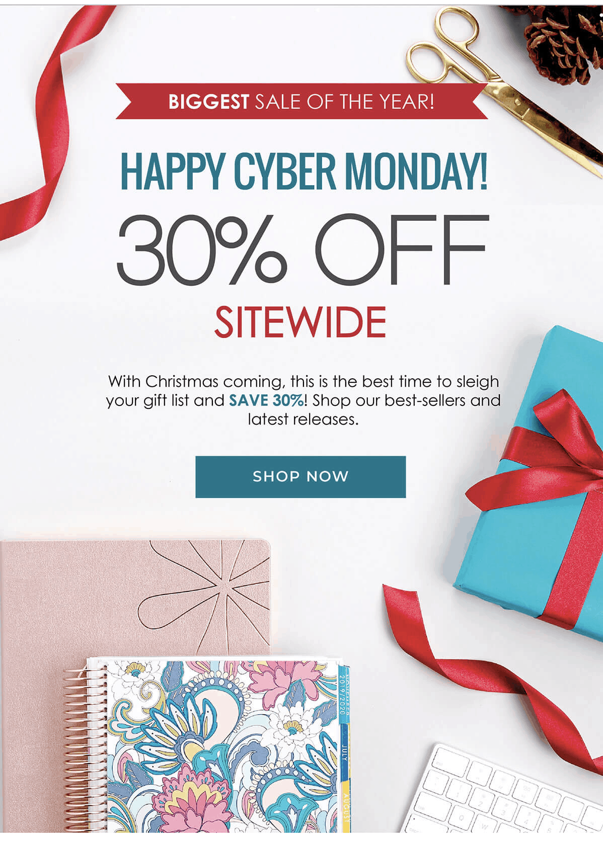 Erin Condren Cyber Monday Deal: Get 30% Off Sitewide!