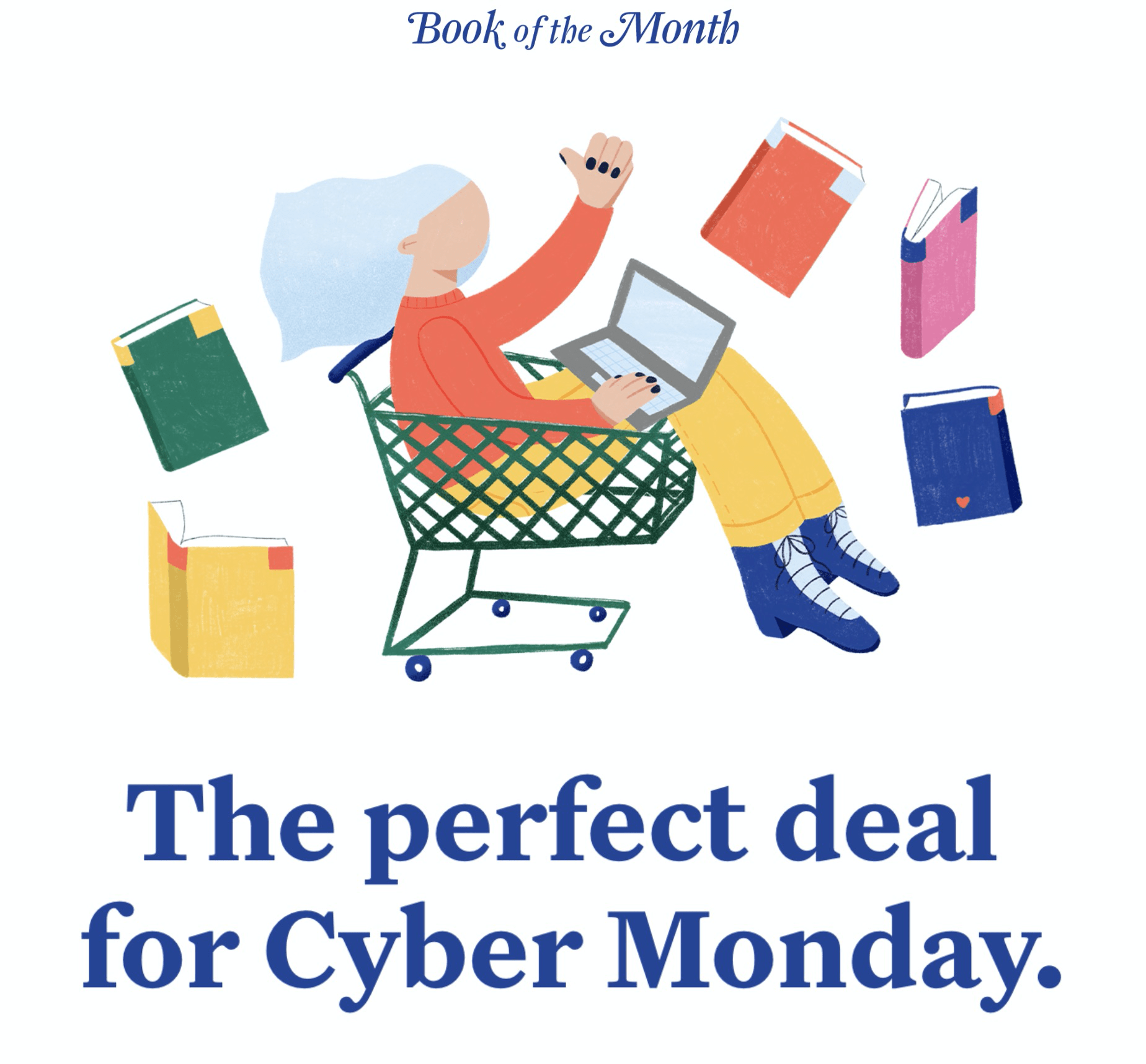Book of the Month Holiday Coupon: Save $10 on 6+ Month Gifts!