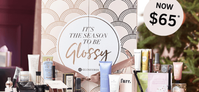 GLOSSYBOX Cyber Monday Deal: Advent Calendar for $65!