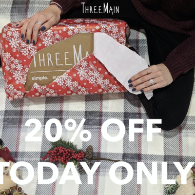 ThreeMain Cyber Monday SALE: Get 20% off shop items for your green home!