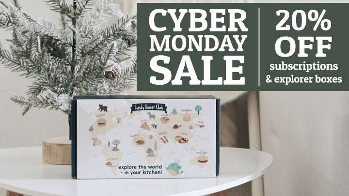 eat2explore Cyber Monday Deal: Save 20% on Subscriptions & Explorer Boxes!
