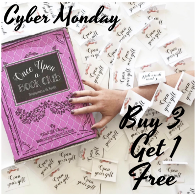 Once Upon a Book Club Cyber Monday Deals: Buy 3 Get 1 Free!