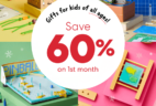 EXTENDED KiwiCo Cyber Monday Sale – 60% off First Box!