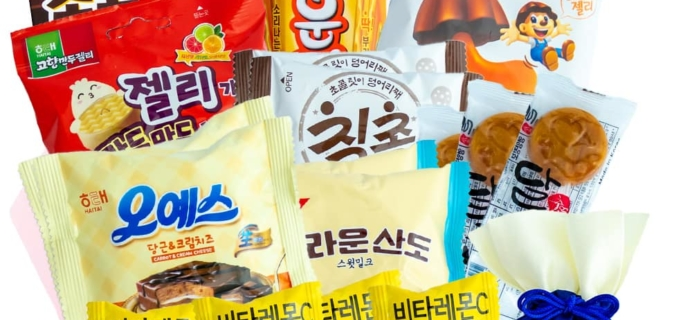 Korean Snack Box December 2019 FULL Spoilers + Coupon!