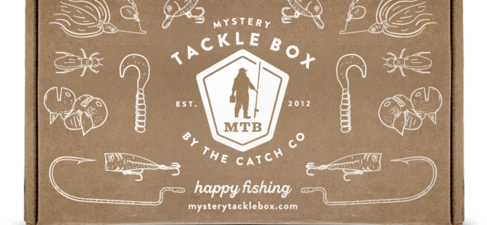 Mystery Tackle Box Holiday Coupons: Save 15% off your entire subscription!