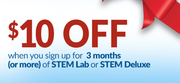 Spangler Science Club Holiday Coupon: Save $10!