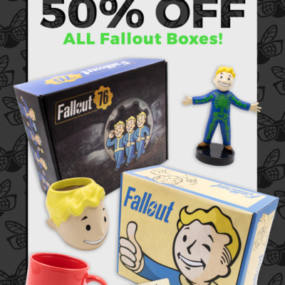 Culturefly Flash Sale: Save 50% On All Fallout Collectible Boxes & Figures!