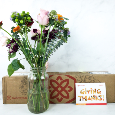 BloomsyBox Flower November 2019 Subscription Box Review & Coupon