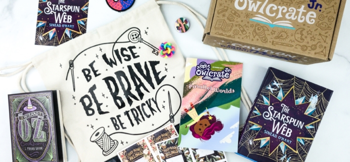 OwlCrate Jr. November 2019 Box Review & Coupon