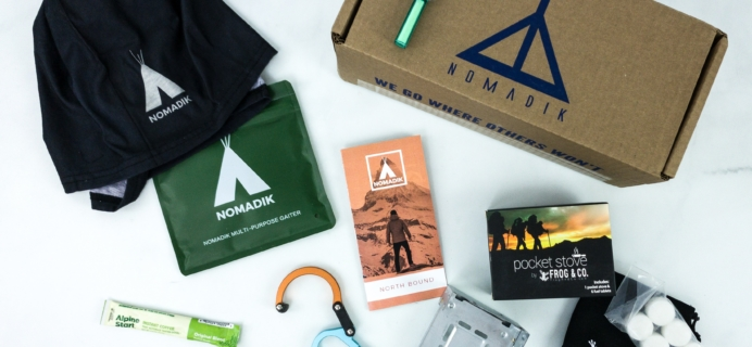 Nomadik Holiday 2019 Box Review + Coupon
