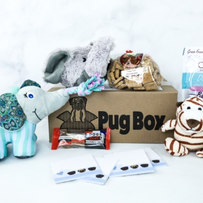 Pug Box November 2019 Subscription Box Review + Coupon!