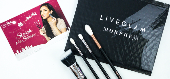 MorpheMe Brush Club December 2019 Subscription Box Review + Free Brush Coupon!