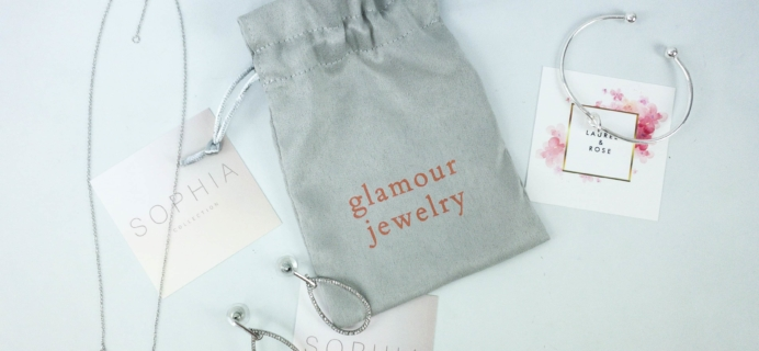 Glamour Jewelry Box November 2019 Subscription Box Review + Coupon