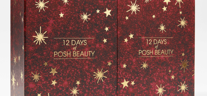 QVC 2019 12 Days of Posh Beauty Advent Calendar Available Now + Full Spoilers!