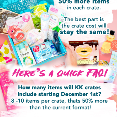 Kira Kira Crate Subscription Update!