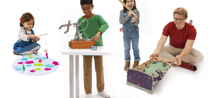 KiwiCo Holiday Sale: $4.95 First Box Kids Arts & Science Subscription!
