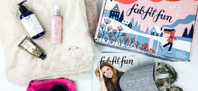 FabFitFun Winter 2019 Box Review + Coupon
