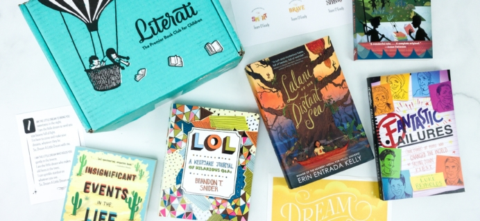 Literati Club Phoenix Box Review + Coupon – November 2019