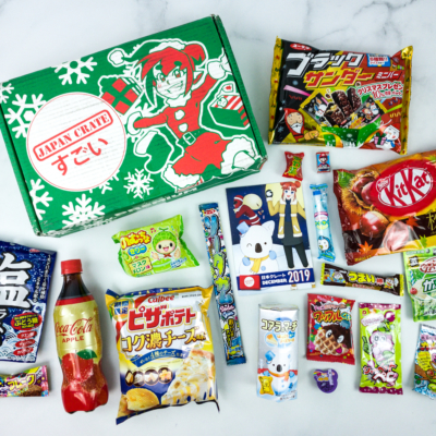 Japan Crate December 2019 Subscription Box Review + Coupon
