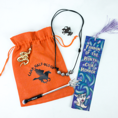 Fandom of the Month Club December 2019 Subscription Box Review – CLUB HALF-BLOOD