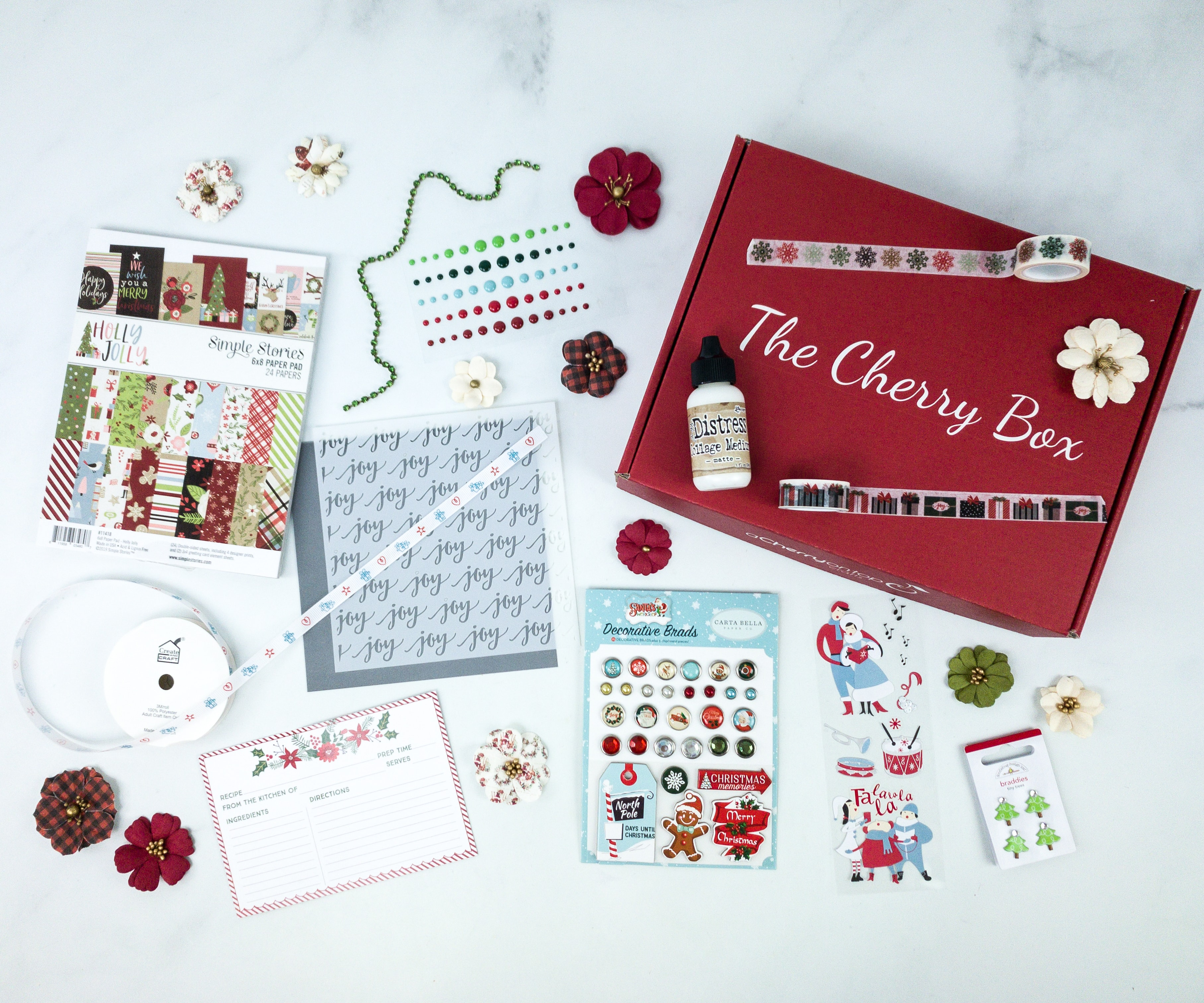 The Cherry Box December 2019 Subscription Box Review Hello
