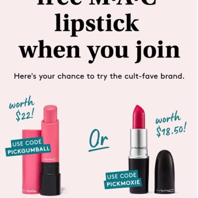 Birchbox Holiday Deal: FREE MAC Lipstick!
