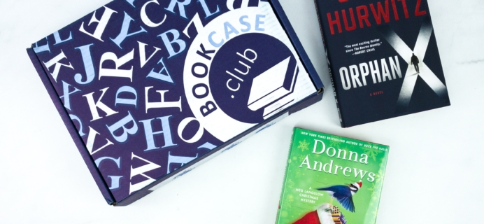 BookCase.Club December 2019 Subscription Box Review & 50% Off Coupon – Thrill Seeker Case!