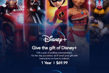Disney+ Gift Subscription Cards Available Now!