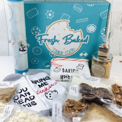 Fresh Baked Cookie Crate December 2019 Subscription Box Review + Coupon!