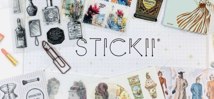 STICKII Club December 2019 Subscription Box Review – Retro Pack!
