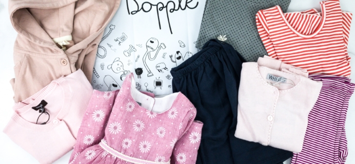 Dopple Kids Clothing Winter 2019 Subscription Box Review!