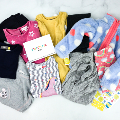 Stitch Fix Kids November 2019 Little Girls Review