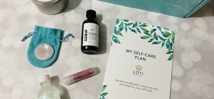 Loti Wellness December 2019 Subscription Box Review!