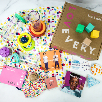 Baby Play Kits by Lovevery Subscription Box Review + Coupon – The EXPLORER!