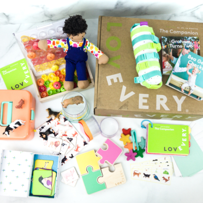 Toddler Play Kits by Lovevery Review + Coupon – THE COMPANION!