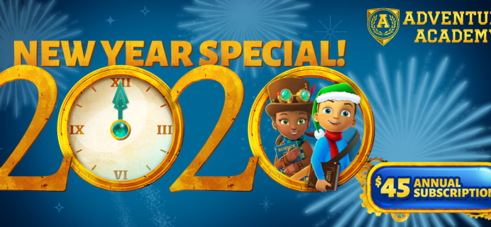 Adventure Academy Holiday Annual Sale: Get 1 Year of Adventure Academy for $45 – 62% Off!