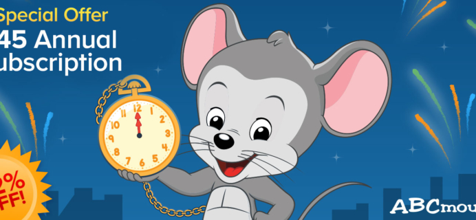 ABCmouse Holiday Annual Sale: Get 1 Year of ABCmouse for $45 – 62% Off!