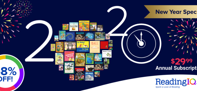 ReadingIQ Holiday Annual Sale: Get an Annual Subscription For Just $29.99!