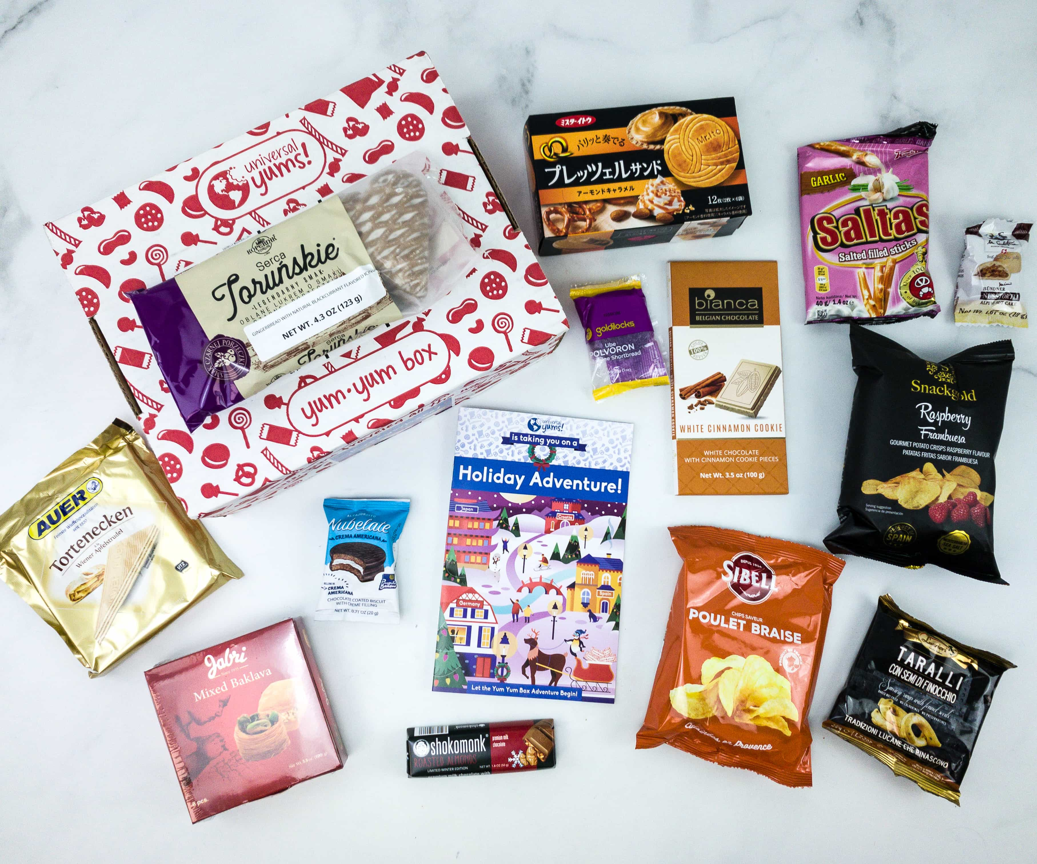 Universal Yums Subscription Box Review + Coupon – EVERYWHERE