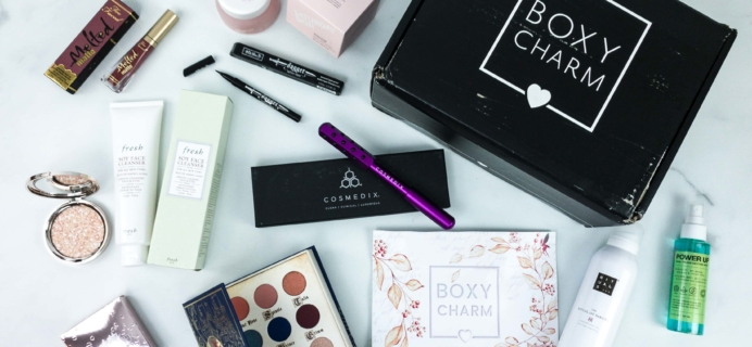 BOXYCHARM December 2019 BoxyLuxe Review + Coupon