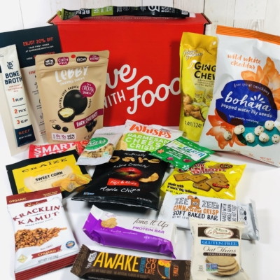Love With Food December 2019 Deluxe Box Review + Coupon!