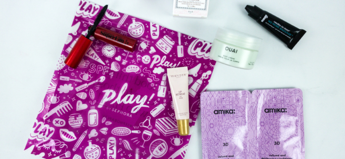 Play! by Sephora December 2019 Subscription Box Review