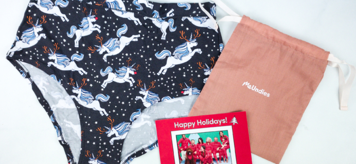 MeUndies December 2019 Subscription Review – Women's