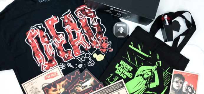 Loot Crate October 2019 Review + Coupons – DEADISH