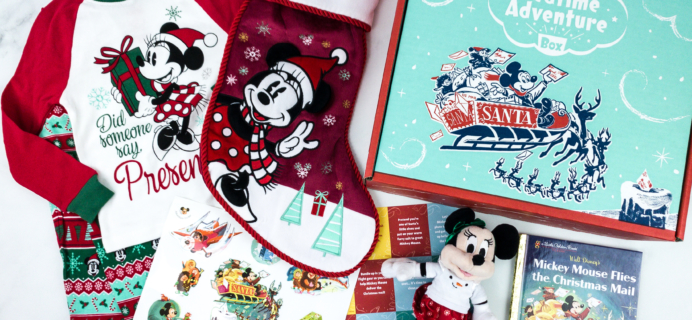 Disney Bedtime Adventure Subscription Box Review – December 2019