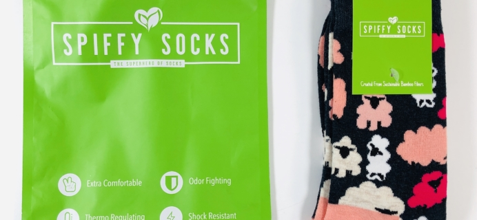 Spiffy Socks December 2019 Subscription Box Review  + Coupon