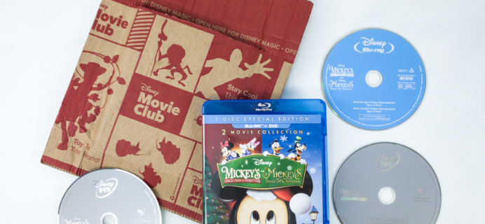 Disney Movie Club December 2019 Review + Coupon – Special 2-Movie Collection!